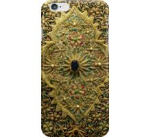 Oriental Embroidery Detail  iPhone Case/Skin