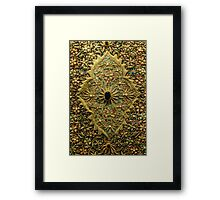 Oriental Embroidery Detail  Framed Print