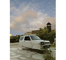 Awesome Adam Zabardast Jeep Sport Utility 4x4 Hovercar Photographic Print