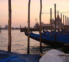 Gondolas of Piazza San Marco by Macaco