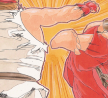 Ken vs. Ryu Sticker
