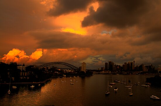 Something Wicked This Way Comes - Moods Of A City # 30 - Sydney , Australia by Philip Johnson