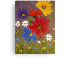 Wildflowers-2 Canvas Print