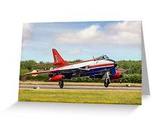 Hawker Hunter FGA.9 XE601/G-ETPS Greeting Card
