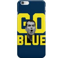 Jim Harbaugh GO BLUE iPhone Case/Skin