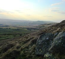 View from Binsey towards the solway firth and Scotland by leelee