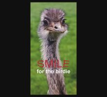 Smile... for the birdie by Krys Bailey