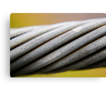 Steel Cable Canvas Print