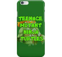 Teenage Mutant Ninja Turtles Michelangelo iPhone Case/Skin