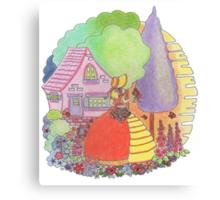 Crinoline Lady  Canvas Print