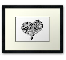 Heartfull Framed Print