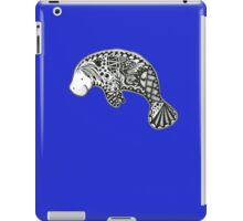 Manatee blue iPad Case/Skin