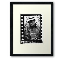 Hunter S Thompson  Framed Print