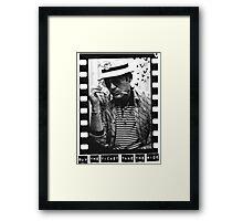 Hunter S Thompson  Framed Print