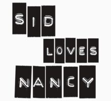 Sid Loves Nancy (Sid Vicious & Nancy Spungen) Kids Clothes