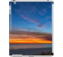 Sunset over the Gulf of Mexico iPad Case/Skin