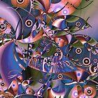 Fish Fiesta II by Lynda Lehmann