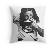 Cocaine  Throw Pillow