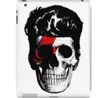 David Bowie (Ziggy Stardust) Skull iPad Case/Skin