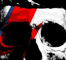 David Bowie (Ziggy Stardust) Skull Sticker
