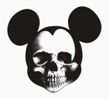 Mickey Skull by LamericaTees