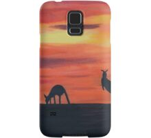 Roos on the horizon Samsung Galaxy Case/Skin