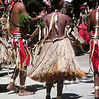 Native Dancers Port Moresby PNG by Ian McKenzie