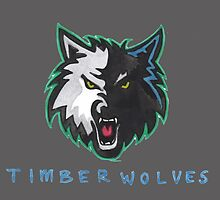 TIMBERWOLVES by nbatextile
