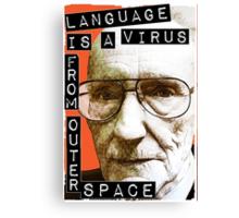 William S. Burroughs (Beat Writer) Canvas Print