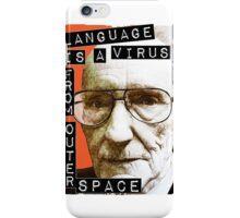 William S. Burroughs (Beat Writer) iPhone Case/Skin