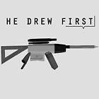 - He Drew First by Georg Bertram