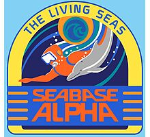 Seabase Alpha The Living Seas Photographic Print