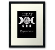 Esbat Framed Print