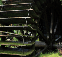 Old Waterwheel Sticker