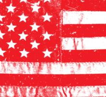 Distressed USA Flag - United States Of America Sticker