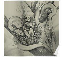 Snake Child (alternate colour) Poster