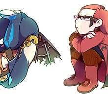 Archie and Maxie (ORAS) by kubby