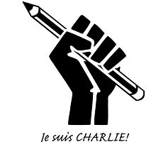 """Je suis CHARLIE!""....French solidarity! by Kricket-Kountry"