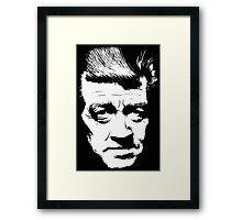 David Lynch Pop Art Framed Print