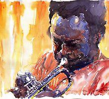 Jazz Miles Davis 8 by Yuriy Shevchuk