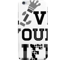 Live Love Your Life Version 1   OG Collection iPhone Case/Skin