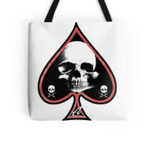 Ace of Spades Death Card Tote Bag