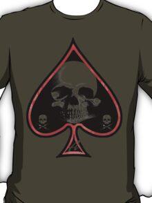 Ace of Spades Death Card T-Shirt