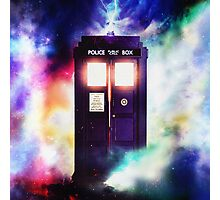 Tardis Cloud Art Painting Photographic Print