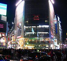 Shibuya, Tokyo by Kyra  Webb