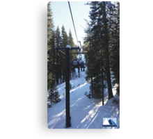 Snowy Scene 4 Canvas Print