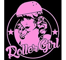 Roller Girl  Photographic Print
