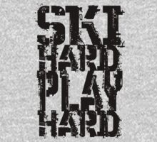 Ski Hard Play Hard | OG Collection by FreshThreadShop
