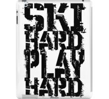 Ski Hard Play Hard | OG Collection iPad Case/Skin