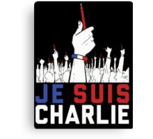 Je Suis Charlie shirt, sweatshirt and more Canvas Print
